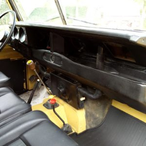 1978 LR LHD Santana 88 Hardtop A Mustard Yellow dash and trim