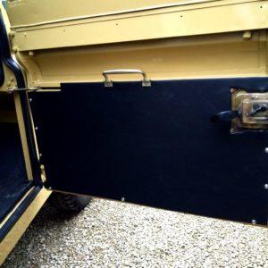 1978 LR LHD Santana 88 Hardtop A Mustard Yellow new front door trims