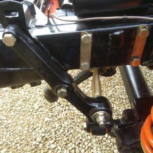 1983 LR LHD Defender 110 V8 rolling frame drop link