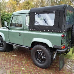 1985 Landrover 90 LHD Truckcab Kesw. Freestyle done left rear