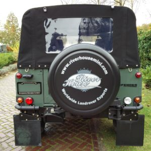 1985 Landrover 90 LHD Truckcab Kesw. Freestyle done rear rear