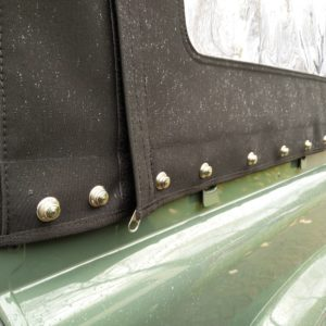 1985 Landrover 90 LHD Truckcab Kesw. Freestyle done top with Tenax fasteners