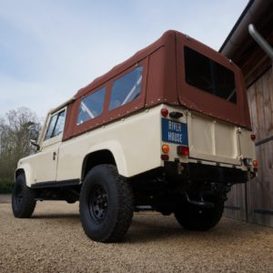 1988 110 Tithonus LHD Ivory ready left rear