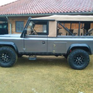 1990 LR LHD 110 Tithonus Grey ready open left side