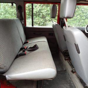 1992 LR LHD 110 5 dr 200 tdi Ex Fire Dept interior 2nd row