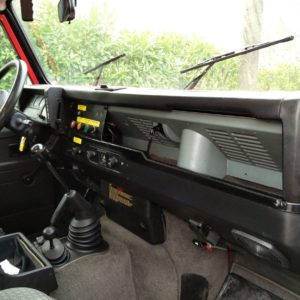 1992 LR LHD 110 5 dr 200 tdi Ex Fire Dept interior dash and trim