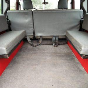 1992 LR LHD 110 5 dr 200 tdi Ex Fire Dept interior loadfloor