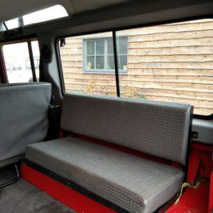 1992 LR LHD 110 5 dr 200 tdi Ex Fire Dept interior loadfloor seats