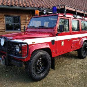 1992 LR LHD 110 5 dr 200 tdi Ex Fire Dept left front
