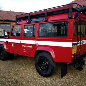 1992 LR LHD 110 5 dr 200 tdi Ex Fire Dept left rear