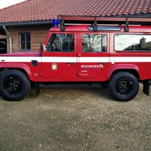 1992 LR LHD 110 5 dr 200 tdi Ex Fire Dept left side