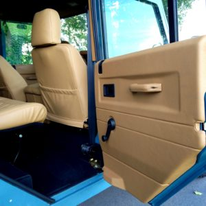 1992 LR LHD 110 Blue 200 tdi day 52 interior 2nd row sear and doortrim
