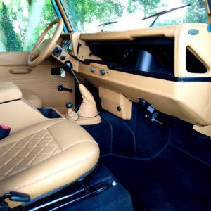 1992 LR LHD 110 Blue 200 tdi day 52 interior dash and trim