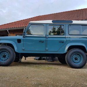 1992 LR LHD 110 Blue 200 tdi day 52 left side low