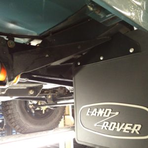 1992 LR LHD 110 Blue 200 tdi day 60 undercarriage right front