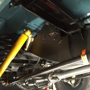1992 LR LHD 110 Blue 200 tdi day 60 undercarriage right rear
