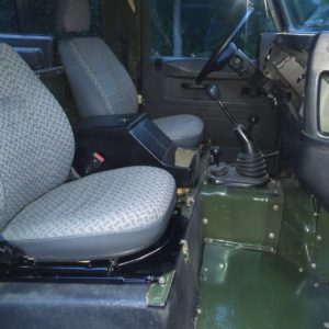 1992 LR LHD Defender 90 200 Tdi Eastnor Green interior techno front seats