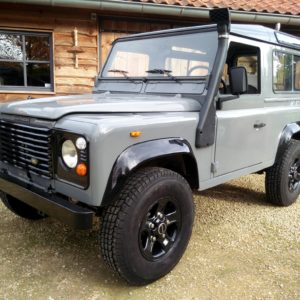 1992 LR LHD Defender 90 200 Tdi Grey A left front
