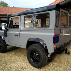 1992 LR LHD Defender 90 200 Tdi Grey A left rear