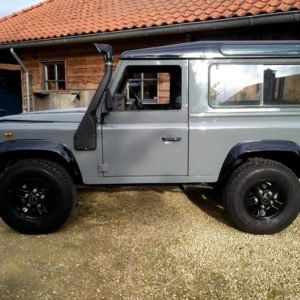 1992 LR LHD Defender 90 200 Tdi Grey A left side