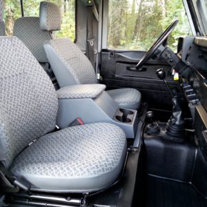 1992 LR LHD Defender 90 200 Tdi Grey B front seats