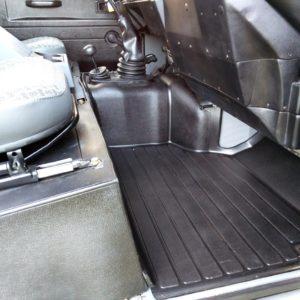 1992 LR LHD Defender 90 200 Tdi Grey B interior exmoor mats