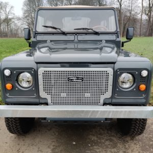 1990 LR LHD D90 V8 AC Heritage Grey AA front