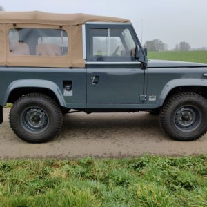 1990 LR LHD D90 V8 AC Heritage Grey AA right side