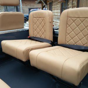 1990 LR LHD D90 V8 AC Heritage Grey ready 2 jump seats