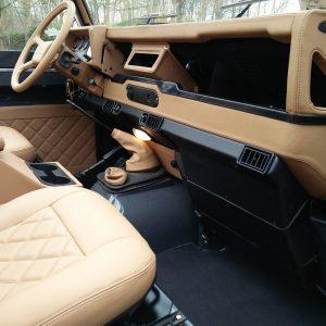 1990 LR LHD D90 V8 AC Heritage Grey ready dash and trim