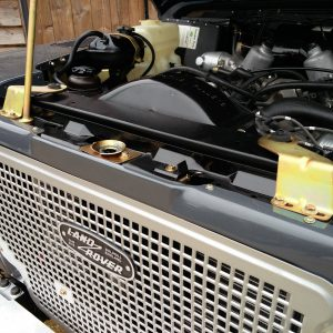 1990 LR LHD D90 V8 AC Heritage Grey ready grill and slam panel