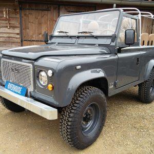 1990 LR LHD D90 V8 AC Heritage Grey ready left front