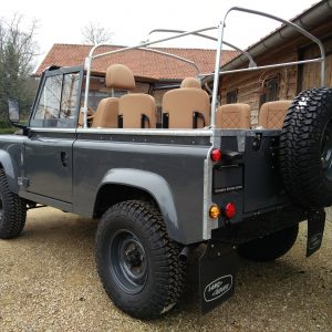 1990 LR LHD D90 V8 AC Heritage Grey ready left rear