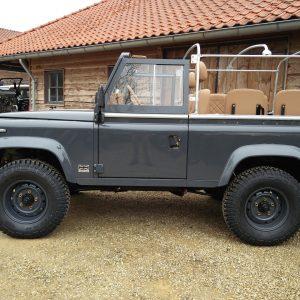 1990 LR LHD D90 V8 AC Heritage Grey ready left side