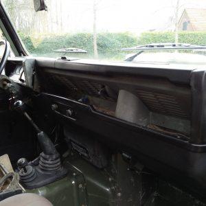 1991 LR LHD 110 5dr 200 Tdi Green interior dash and trim