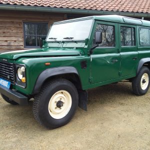 1991 LR LHD 110 5dr 200 Tdi Green left front