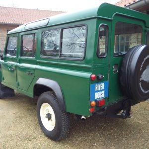 1991 LR LHD 110 5dr 200 Tdi Green left rear