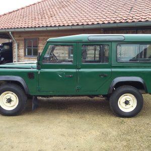 1991 LR LHD 110 5dr 200 Tdi Green left side
