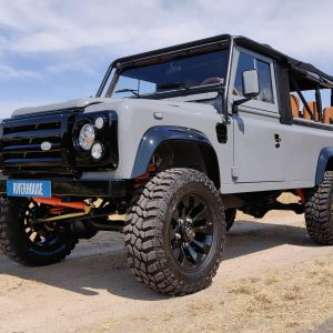1992 LR LHD Defender 110 Grey B with top left front low