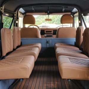 1992 LR LHD Defender 110 Grey B with top loadfloor seats 6x