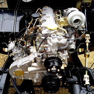 1992 LR LHD Defender 110 frame ready engine 200 Tdi