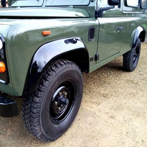 1992 LR LHD Defender 3 dr 200 Tdi A Eastor Green body left front