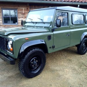 1992 LR LHD Defender 3 dr 200 Tdi A Eastor Green left front