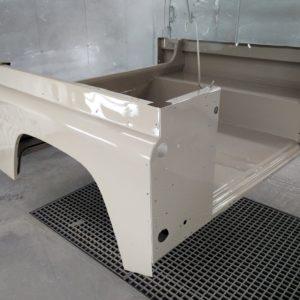 1992 LR LHD Defender 90 200 Tdi Beige painted rear tub