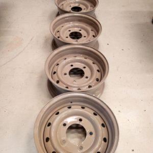 1992 LR LHD Defender 90 200 Tdi Beige painted wheels