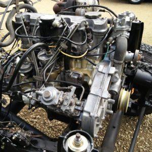 1992 LR LHD Defender 90 200 Tdi Beige rolling READY engine
