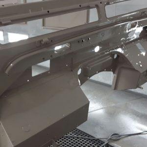 1992 LR LHD Defender 90 200 Tdi Mocc bulkhead outer color