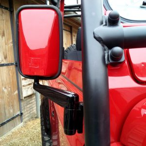 1992 LR LHD Defender 90 Red 200 Tdi A day 15 close mirror