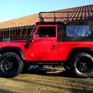 1992 LR LHD Defender 90 Red 200 Tdi A ready left side low