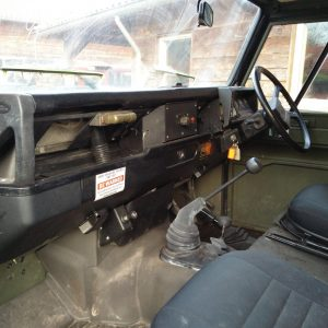 1986 LR RHD Landrover Tithonus dash and trim